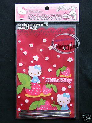 30 Sanrio HELLO KITTY Gift Bag sacchetto del regalo