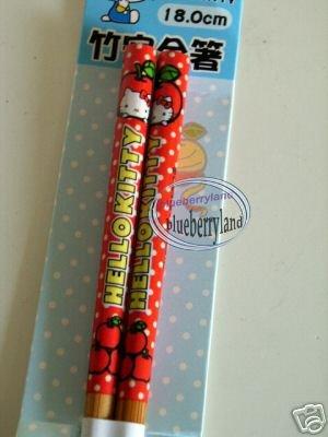 Japan Sanrio HELLO KITTY Chopsticks bento acc ladies A