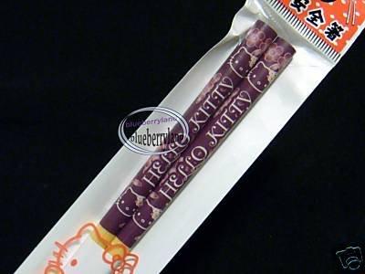 Japan Sanrio HELLO KITTY Chopsticks bento acc ladies PL