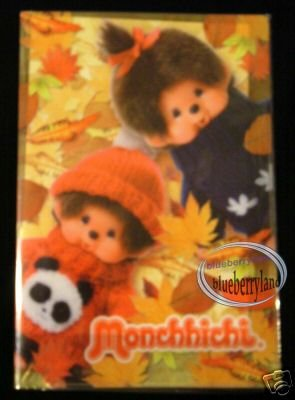 Monchhichi A4 Size File kids girl ladies women