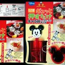 Japan Mickey Mouse Mould Sushi Press Rice MOLD / Bento Box RED