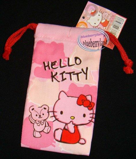 Sanrio HELLO KITTY Cell Phone Ipod MP3 Nano DC Bag bags