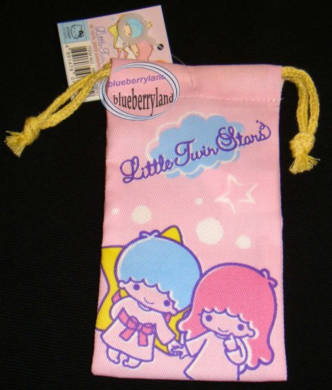 Sanrio Little Twin Stars Mobile Cell Phone MP3 DC BAG
