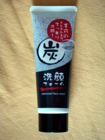 Japan Natural Charcoal Face Wash Clean Oil Dirt