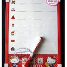 Sanrio HELLO KITTY White Board + Marker Eraser message anime