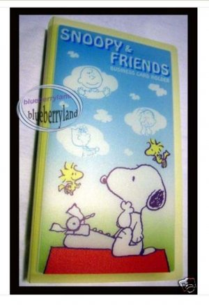 Snoopy & Friends Card holders office name cards Peanuts
