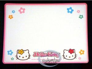 Sanrio HELLO KITTY Kitchen White Magnetic Board fridge