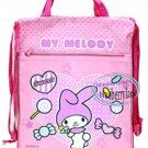 Sanrio My Melody Backpack BAG Beach Swim GYM Dance borsa Pink