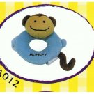 "Japan Plush Squeaky Monkey 6.5"" Puppy Pet Dog Toy Toys"
