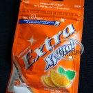 Wrigley`s Extra Zylitol Orange mint flavor Menthol Sugar-free Gum x 2 Packets
