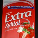Wrigley`s Extra Zylitol Strawberry flavor Menthol Sugar-free Gum x 2 Packets