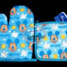 Disney Mickey Mouse Oven Mitt Glove set Home Kitchen