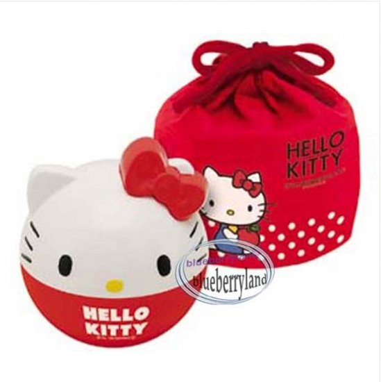 sanrio hello kitty 3d bento lunch box set bag food container. Black Bedroom Furniture Sets. Home Design Ideas