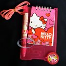 Sanrio HELLO KITTY Pen Note Book writing board set stationer P