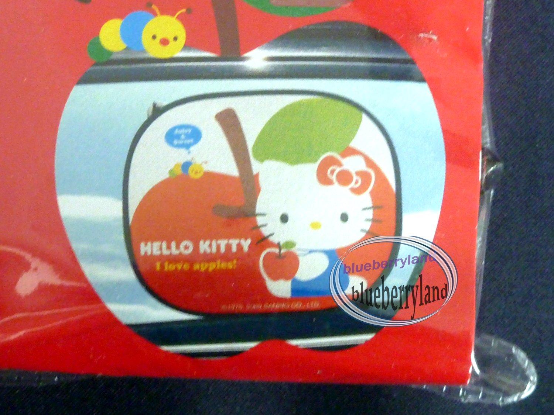Sanrio HELLO KITTY Windshield Sun shade Car Screen Shade auto 2 Pcs