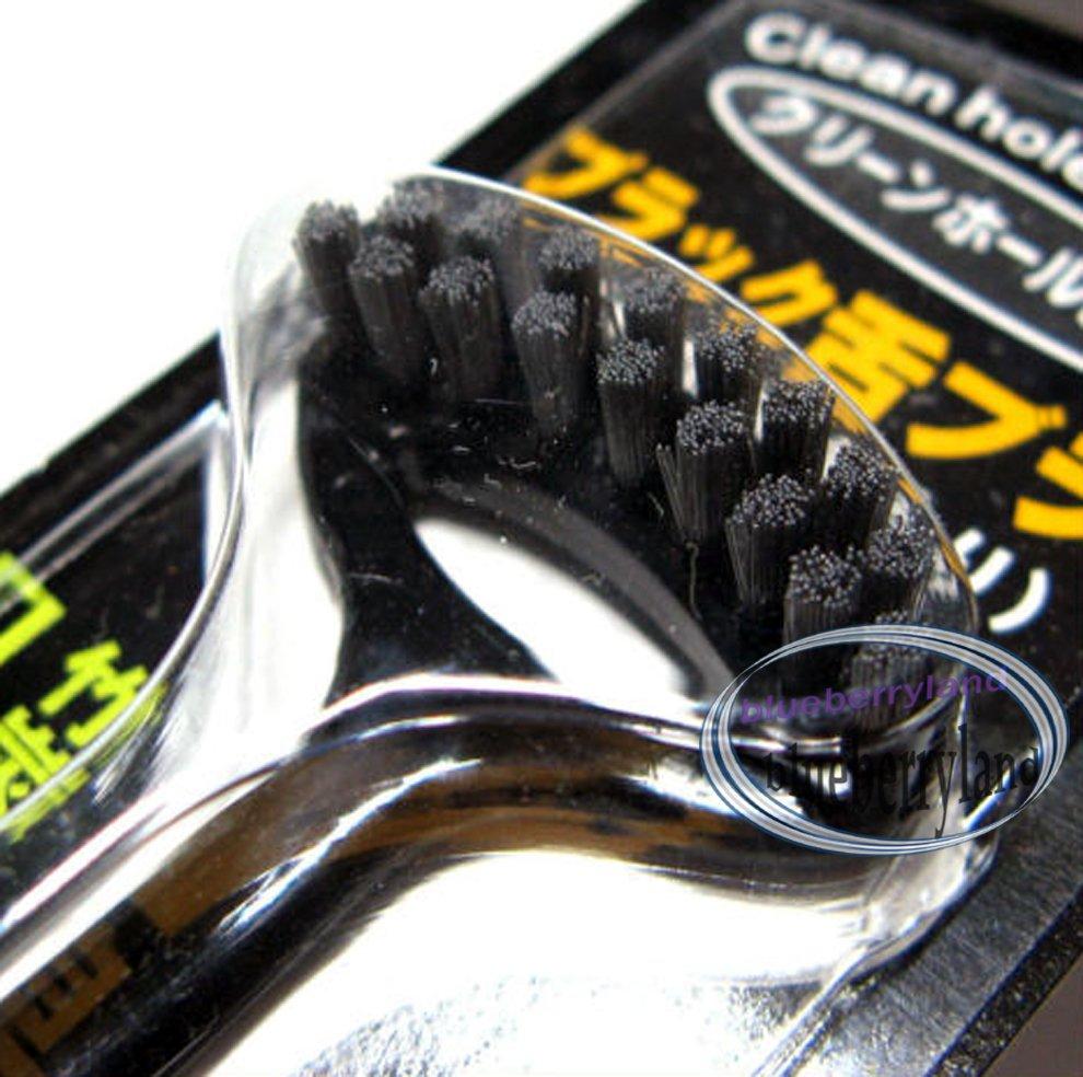 Japan Tongue Cleaner Brush Scraper Fresh Breath Black Bamboo Ash