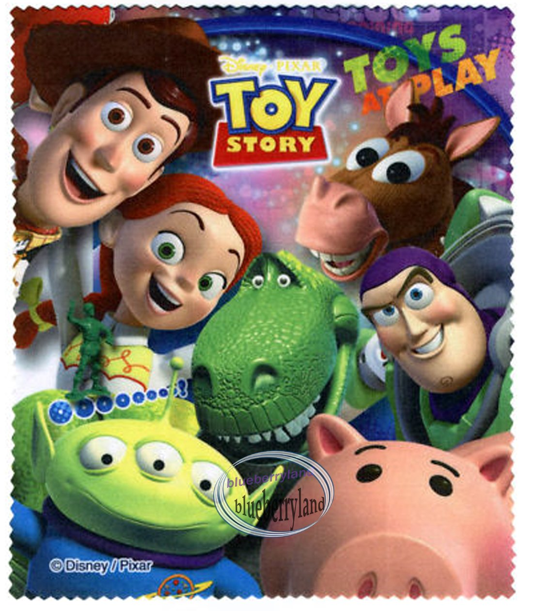 Disney Toy Story Glasses Cleaning Cloth Micro Fabric