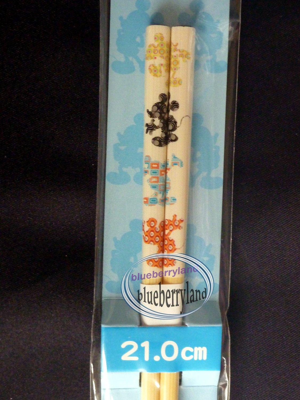 Disney Mickey Mouse Chopsticks bento acc ladies 21cm