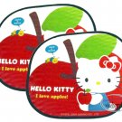 Sanrio HELLO KITTY Windshield Sunshade Car Screen Shade automotive 2 Pcs