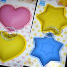 Japan SILICONE Sweets Mold 4pc set cake mould jelly pudding muffin