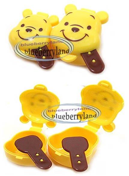 Disney Winnie the Pooh Sauce Dressing Case 2 Pcs set bento lunch box