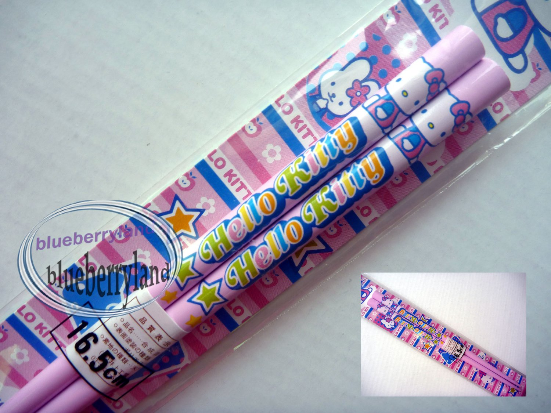 Sanrio HELLO KITTY Bento Chopsticks home cutlery school lunch PMIJ
