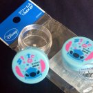Disney Stitch Plastic case set travel kit lotion containers