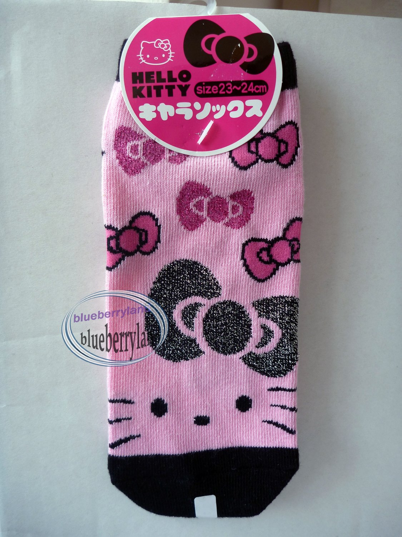 Japan Sanrio Hello Kitty Girl Low Cut Ankle Socks