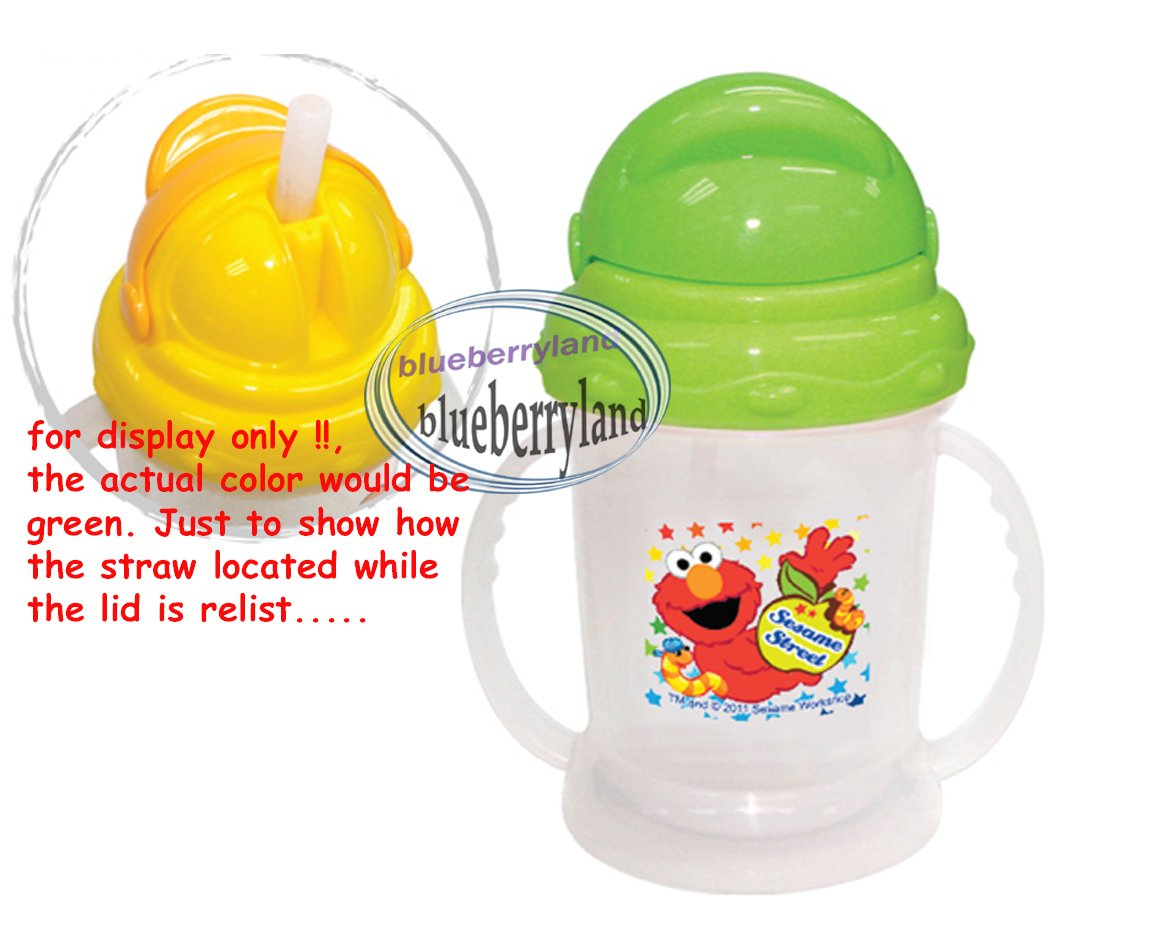 Sesame Street ELMO Baby child MUG with Straw Cup 250ml kids child