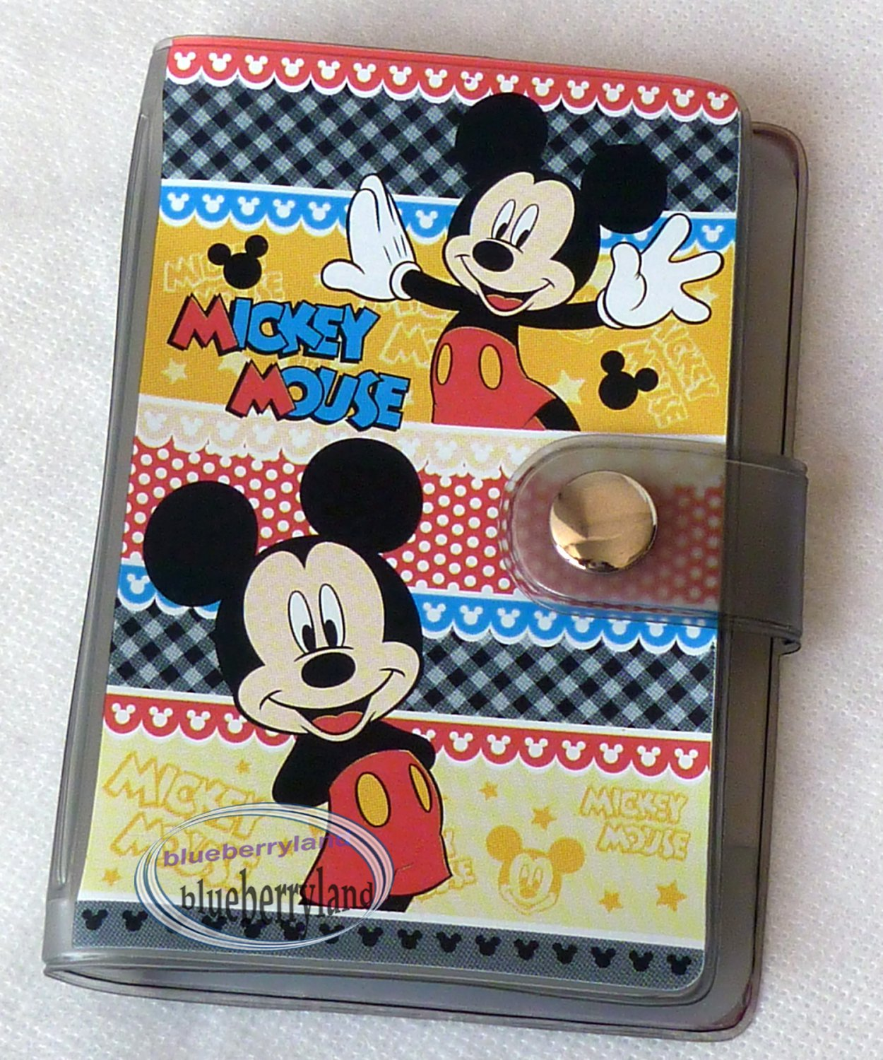 Disney Mickey Mouse ID Credit Card Organizer holder