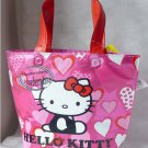 Japan Sanrio Hello Kitty Cooler BAG School Lunch Box HANDBAG Picnic