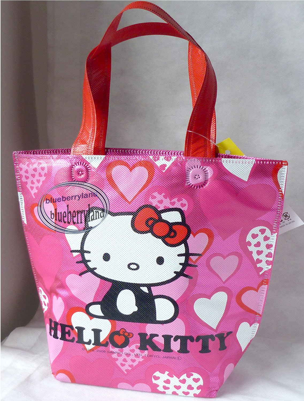 Japan Sanrio Hello Kitty Cooler BAG School Lunchbox Food Container HANDBAG Picnic