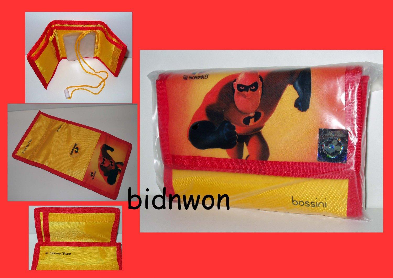 Disney Pixar Incredibles Short Wallet Purse Bag coin BAG
