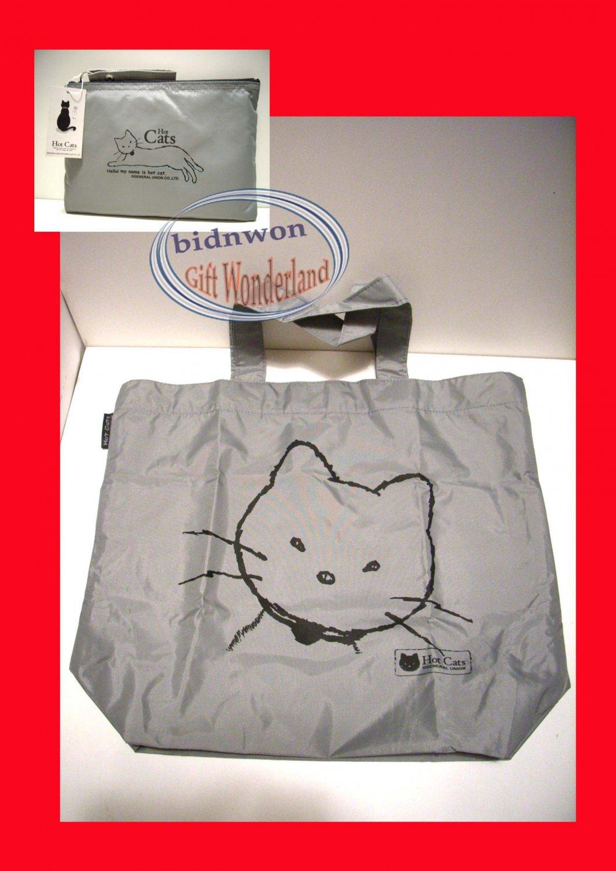 Japan Harajuku Cat World Shoulder Tote Bag purse Handbag gato chat Katze kat
