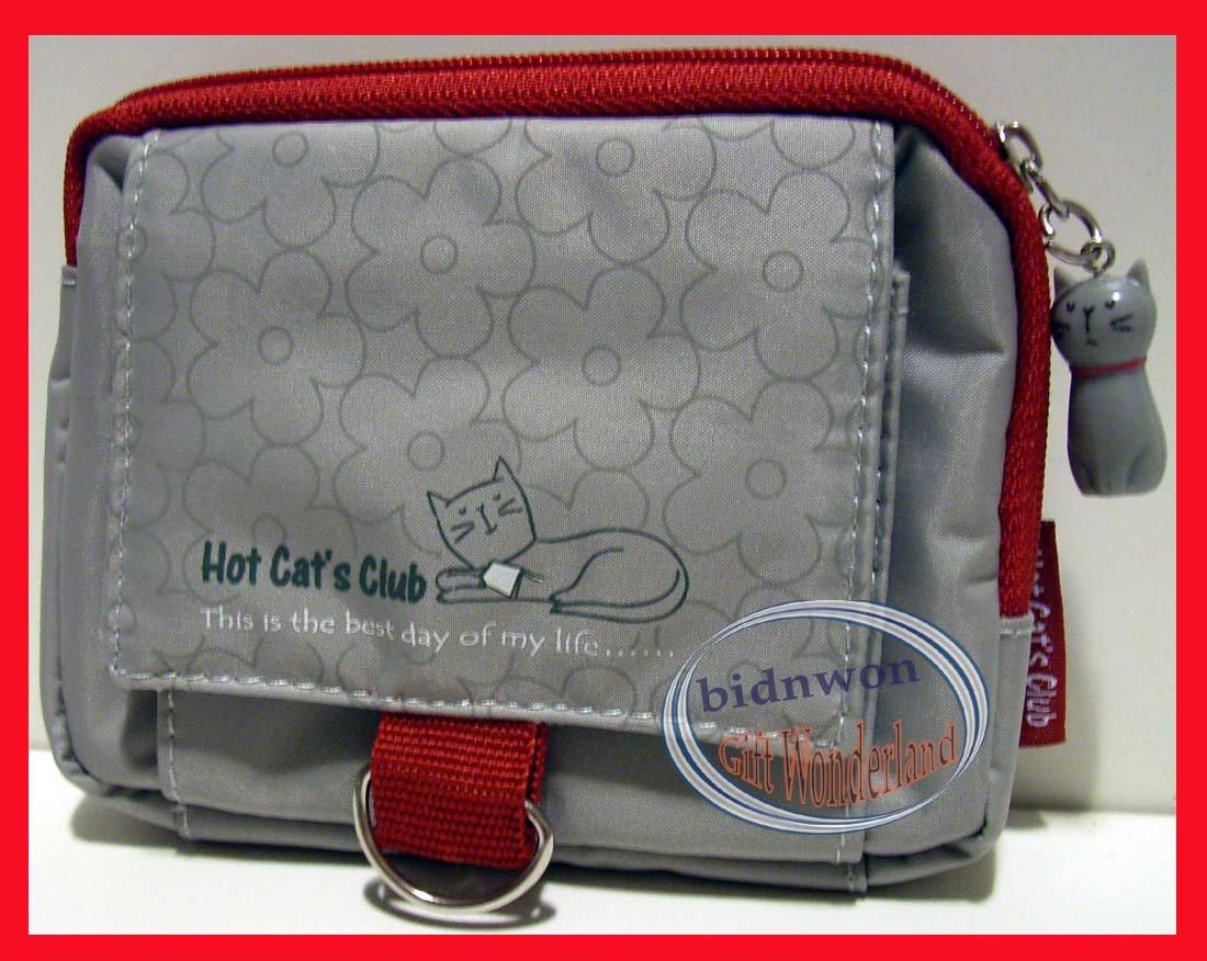 Stylish Hot Cat�s Club Cat Coin wallet bag ID card key purse