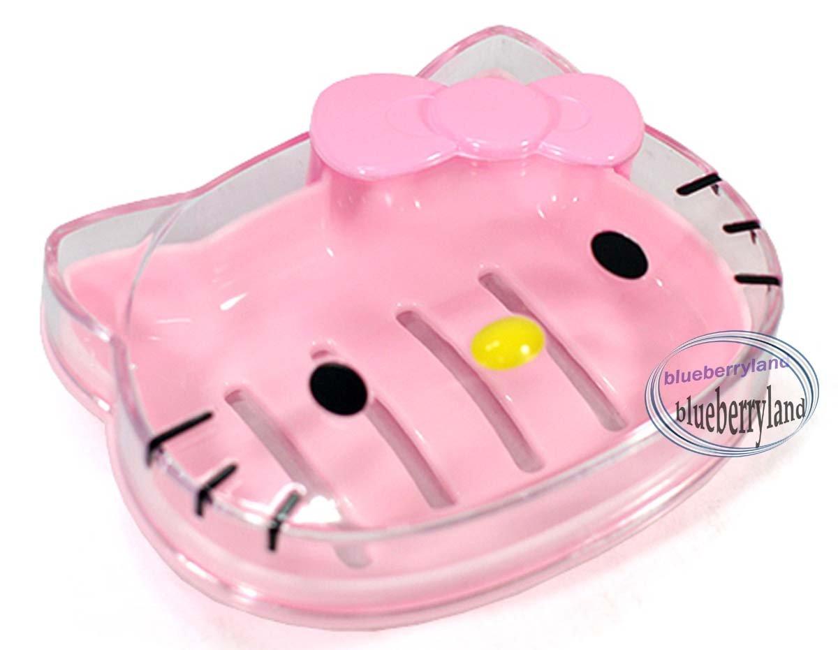 Sanrio Hello Kitty Soap Holder Pink bathroom