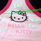 "Sanrio Hello Kitty Ladies Racerback Tank Top Chest Size L 36"" – 38"" Pink"
