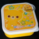 Bear Bento Snack Lunch Box Salad Food Container 3 Pcs set