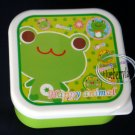 Frog Bento Snack Lunch Box Salad Food Container 3 Pcs set
