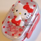 Sanrio Hello Kitty 2 Tier Bento Lunch Box CASE Food container Lunchbox cases kitchen A2