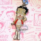 Betty Boop & Pudgy Cell Mobile Phone Strap charm DC Type  B