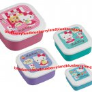Sanrio Hello Kitty Bento Lunch Box Food Container case 4pc set K12
