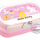 Sanrio Hello Kitty 2 tier Bento Lunch Box food container case set kitchen Pink