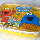 Sesame Street ELMO Bento Lunch Box Food Container case Yellow