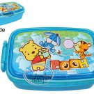 Disney Winnie the Pooh Bento Lunch Box Food Container case BLUE