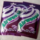Wrigley`s Airwaves Blackcurrant Menthol Sugar-free Gum sweet chewing gums 2 pack