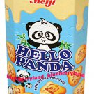 Japan Meiji Hello Panda Milk Cream Biscuit Snack Cookie
