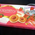 Jack n Jill Dewberry Sandwich Cookies with Cream and Strawberry Flavored Jam