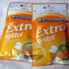 Wrigley`s Extra Zylitol Melon flavor Menthol Sugar-free Gum x 2 Packets