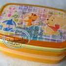 Disney Winnie the Pooh Bento Lunch Box Food Container lunchbox kitchen ladies Q2